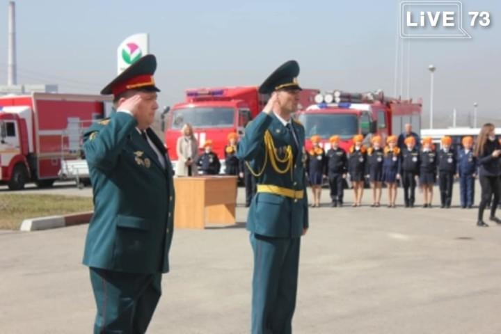 В Главном управлении МЧС России по Ульяновской области прошли торжественные мероприятия, посвященные 100-летию советской пожарной охраны