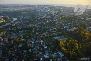 Ульяновск с высоты птичьего полета