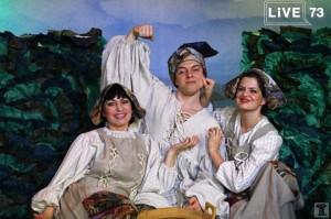 В Ульяновском театре юного зрителя «NEBOLSHOY ТЕАТР» 3 февраля