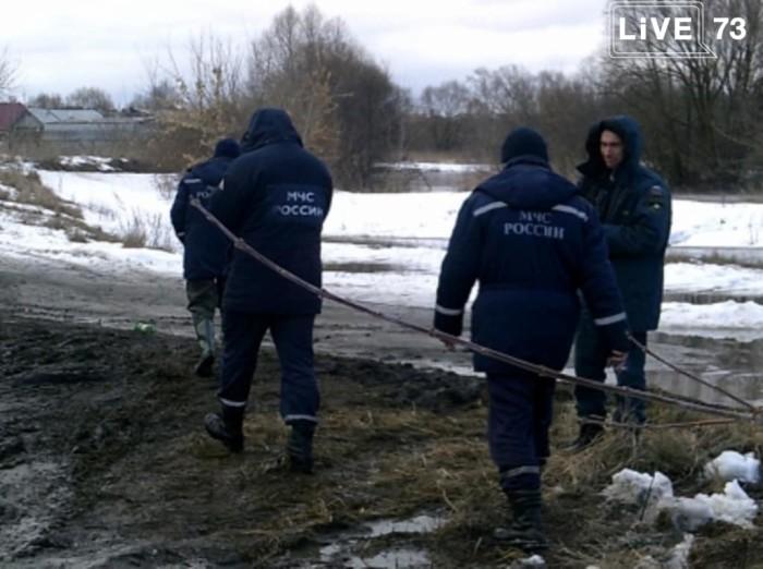 Паводковая обстановка на территории Ульяновской области