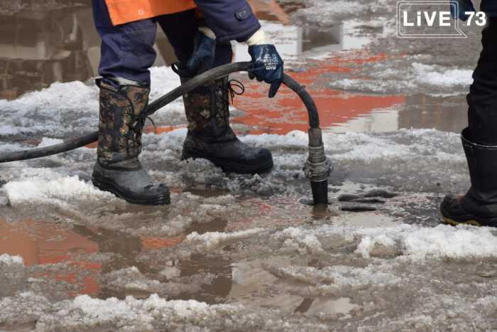 В Ульяновске ликвидируют подтопления в пригородах