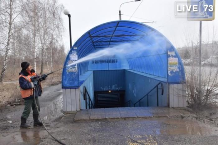Курс на чистоту. В Ульяновске начались санитарные пятницы и субботники