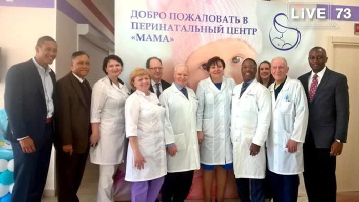 Участники благотворительного проекта «Лицом к будущему» высоко оценили оснащение перинатального центра областной детской клинической больницы