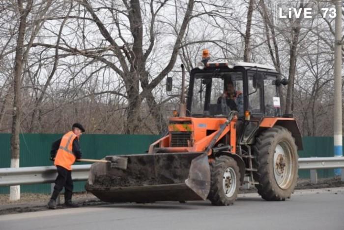 Новости ситуационного центра Ульяновска: с улиц города вывезли полторы тысячи кубометров смёта