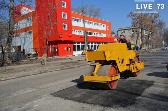 Ульяновские дорожники наращивают темпы ремонта