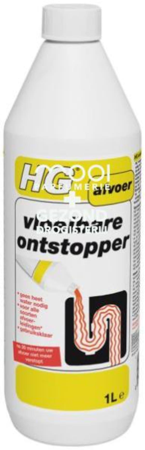 Drogisterij Parfumerie MOOI van Frits - Hg ontstopper vloeibaar