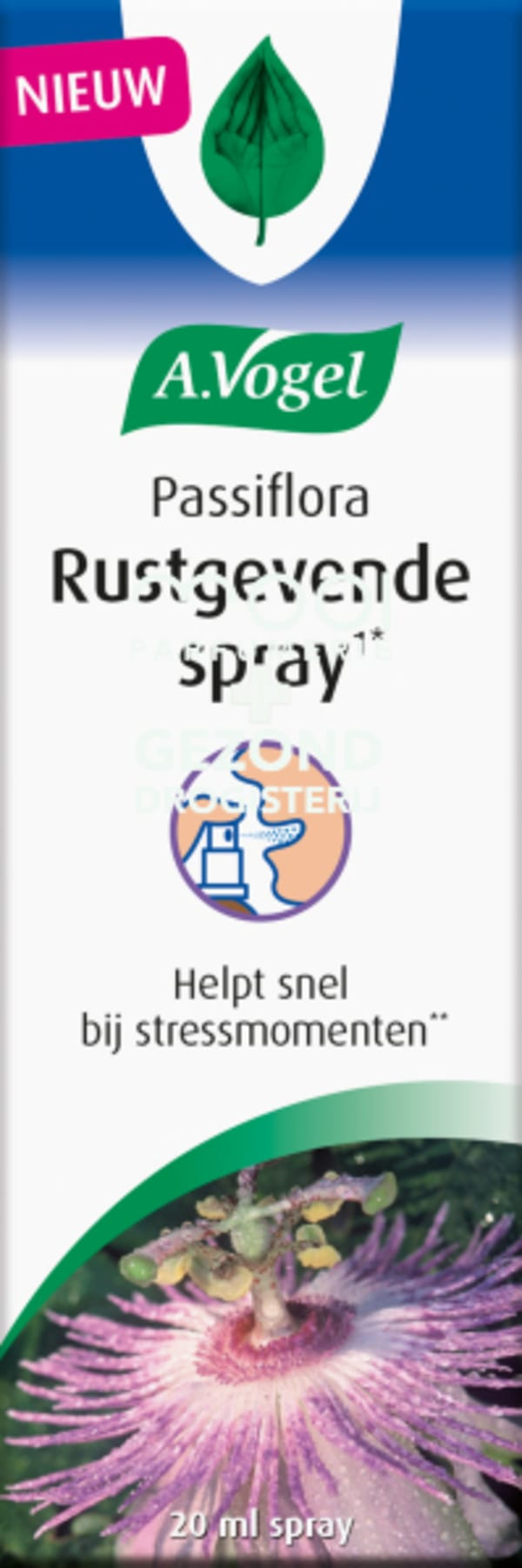 Drogisterij Parfumerie MOOI van Frits - A. Vogel Passiflora Rustgevende Spray 20 ml