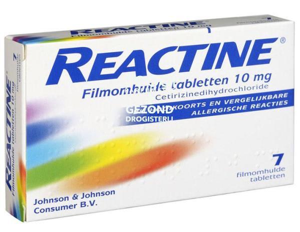 Drogisterij Parfumerie MOOI van Frits - Reactine Cetirizine 10mg