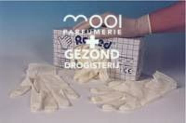 Drogisterij Parfumerie MOOI van Frits - Romed handschoen latex small n