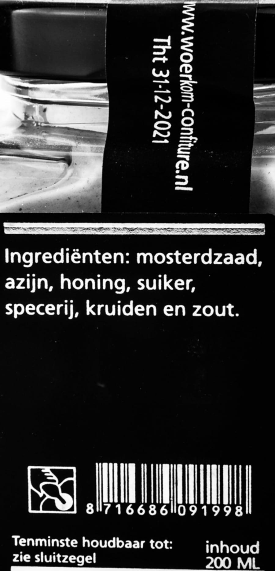 verpakking Theo van Woerkom - Fijne mosterd