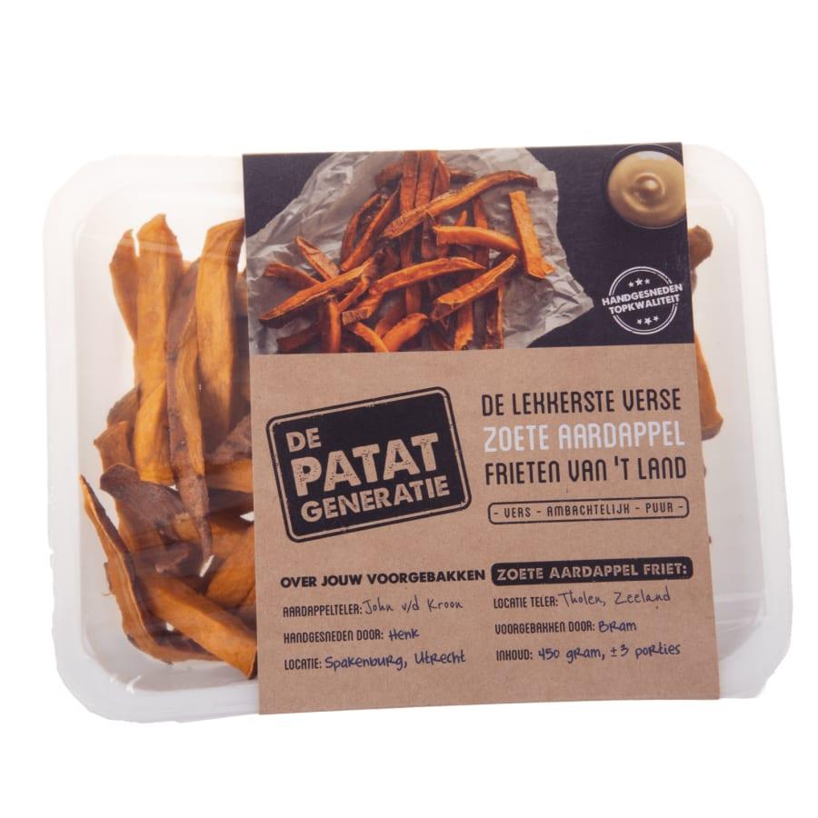 verpakking Voorgebakken Zoete Aardappel Friet
