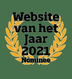 Genomineerd beste website van het jaar