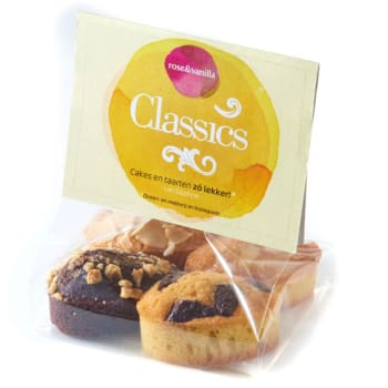 rose&vanilla - Classics cakejes / Glutenvrij & lactosevrij