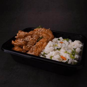 Landwaart Culinair - Japanse kip + rijst