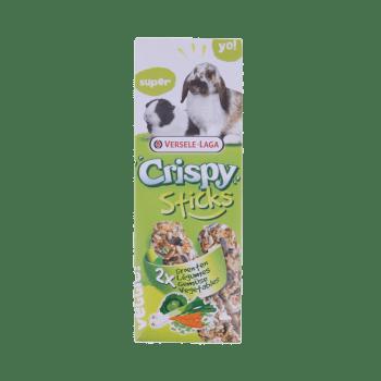 Crispy sticks groente konijn en cavia