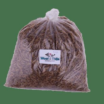 Woef & Thijs Dierenwinkel - Gedroogde meelwormen