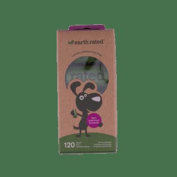 Woef & Thijs Dierenwinkel - Poepzakjes stuks biologisch afbreekbaar met lavendelgeur
