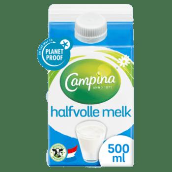 Versgrossier van Oosterom - Campina halfvolle melk