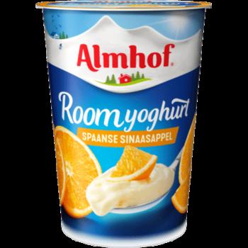 Buurtsuper Harry Janmaat - Almhof Roomyoghurt Spaanse sinaasappel
