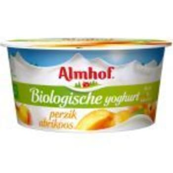 Buurtsuper Harry Janmaat - Almhof Biologische yoghurt perzik/abrikoos