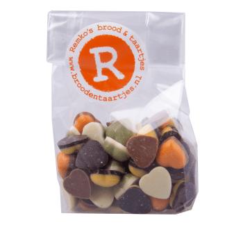 Remko's brood & taartjes - Chocolade hartjes