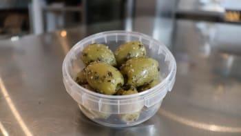 Buitenhorst Vers & Smakelijk - Knoflook olijven