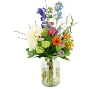 Bloemen aan de Vecht - Zomer plukboeket