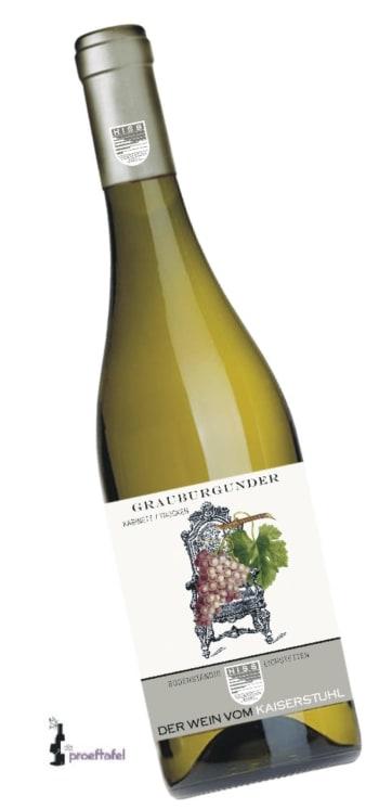 Wijnwinkel De Proeftafel - Baden Grauburgunder Trocken – Weingut Hiss 1/2