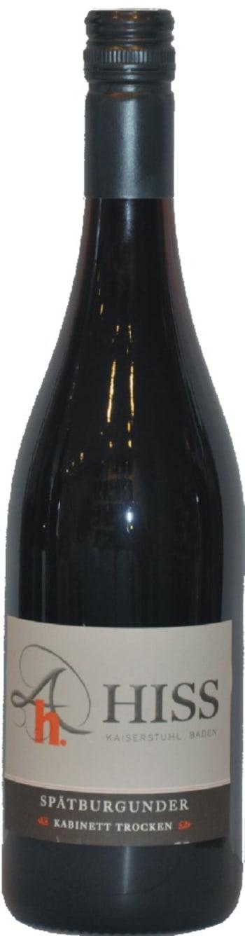 Wijnwinkel De Proeftafel - Baden Spätburgunder Trocken – Weingut Hiss 1/2