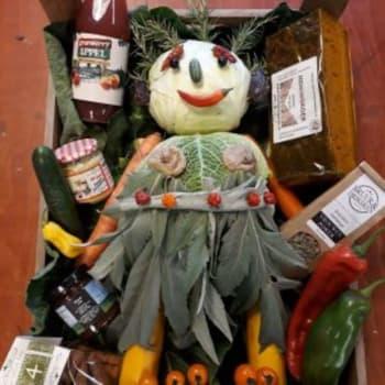 De Groene Schuur - Sarah van groente en fruit