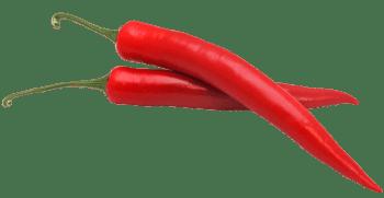 Spaanse peper rood