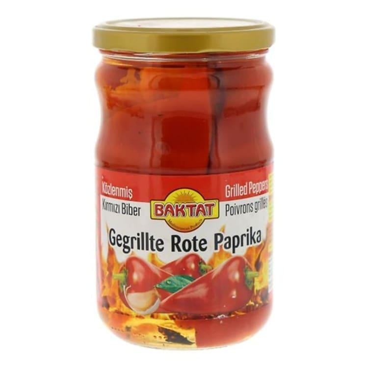 Versgrossier van Oosterom - Baktat gegrilde paprika's pot