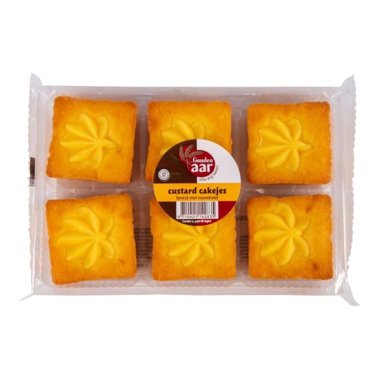 Versgrossier van Oosterom - Gouden Aar custard cakejes