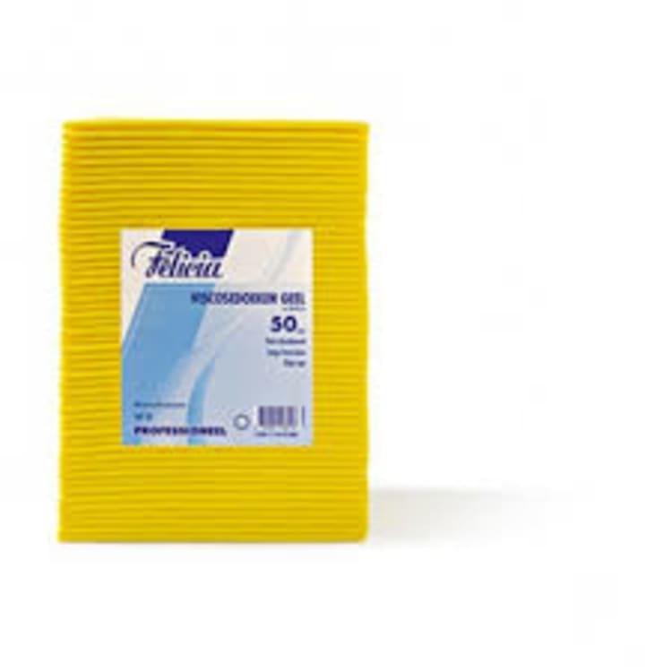 Versgrossier van Oosterom - Felicia schoonmaakdoek geel