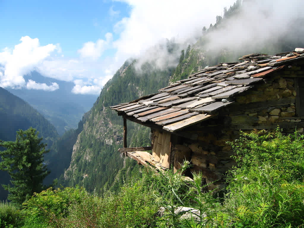 Malana Trek in winters