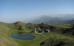 Camping and Trekking in Parashar