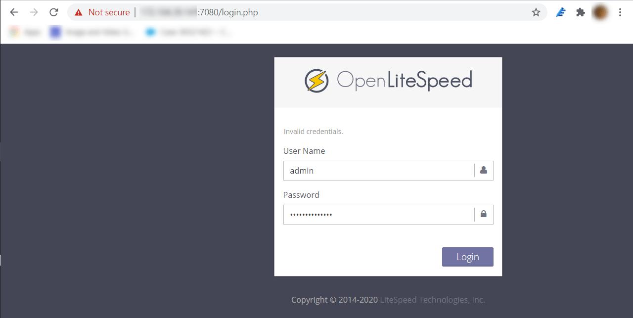 Install WordPress With OpenLiteSpeed On Debian