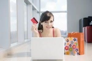 De shopper mest på nettet shopping-online