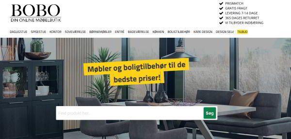 Her køber du møbler på nettet [25+ danske online møbelbutikker] bobo