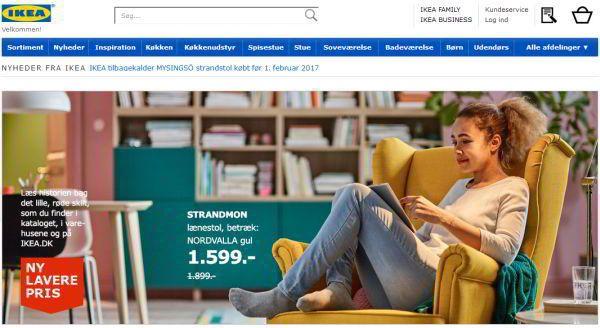 Her køber du møbler på nettet [25+ danske online møbelbutikker] ikea