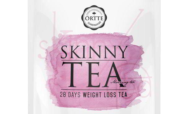 Slankete virker 3,8 kg på 28 dage!! ortte-skinny-tea