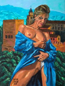 BEATA'S SPANISH FEELING by Pictor Mulier