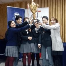 Colegio  Wolfgang Amadeus Mozart obtuvo el primer lugar en el torneo regional de debates de inglés 2018.