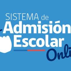 Admisión Escolar Online 2021
