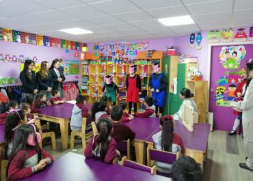 Cuenta Cuentos Jardín infantil Colegio W. A. Mozart