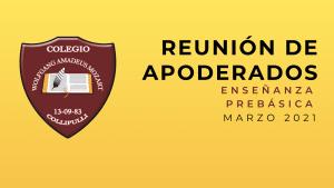 Reunion Padres y Apoderados Marzo 2021 Enseñanza Prebásica