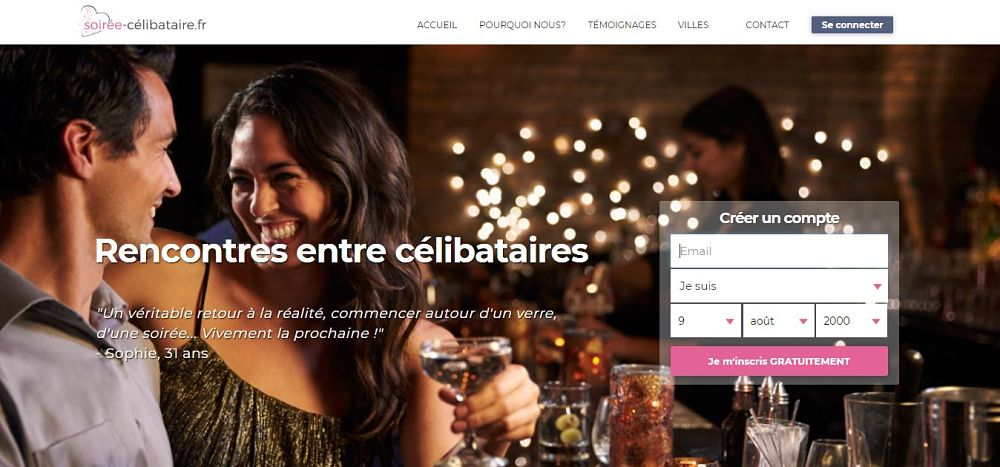 sites de rencontres en ligne pour célibataires hommes âgés de 20 orléans