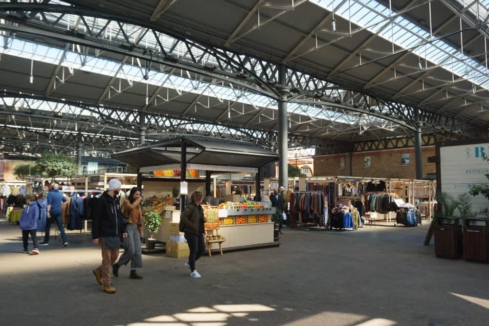 Inside Old Spitalfields Market