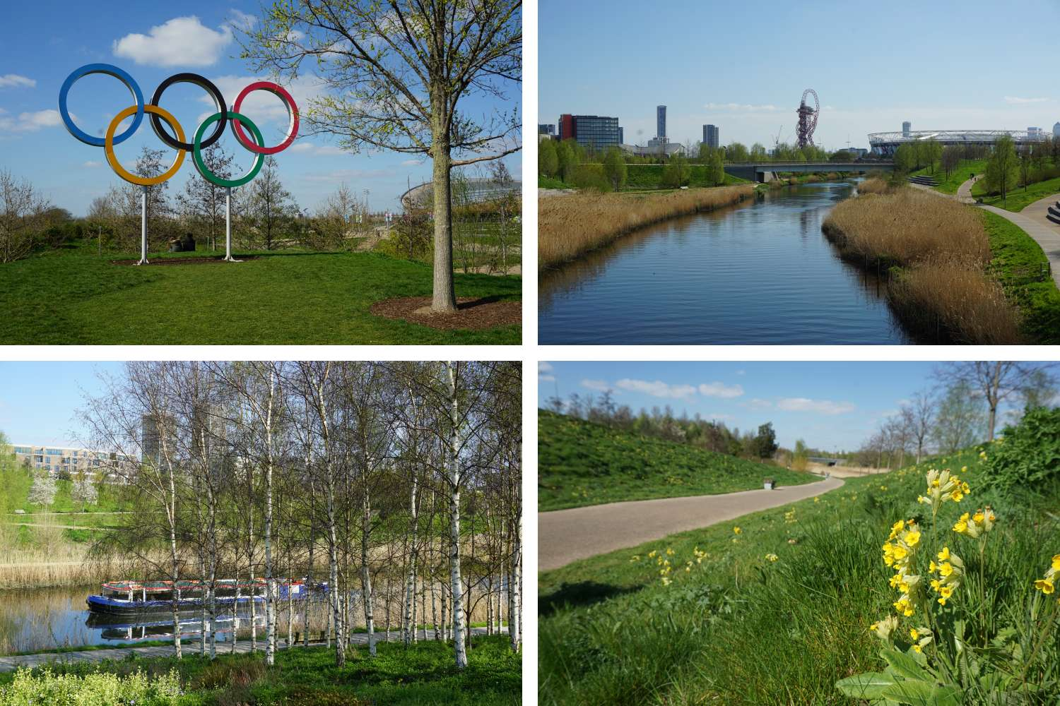 The Queen Elizabeth Olympic Park in London Stratford