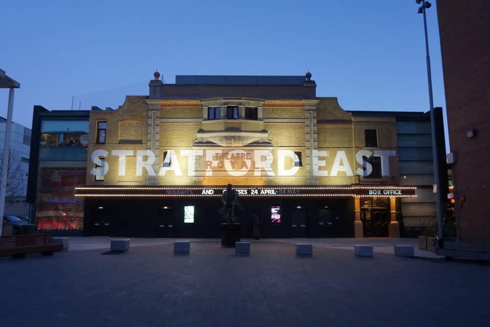 Stratford East theatre in London Stratford